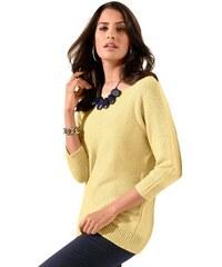 Damen Création L Pullover in attraktiver Farbgebung CRÉATION L gelb 38,40,42,44,46,48,50,52