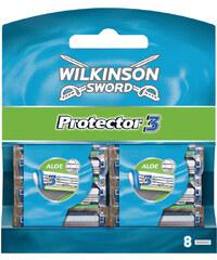 Wilkinson Klingen 8er Pack Protector 3 - mit Aloe Vera Rasierklingen 1 Stück