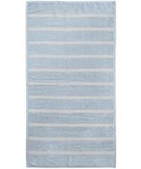 Handtücher Seahorse Menton mit dezenten Streifen SEAHORSE blau 2xHandtücher 60x110 cm