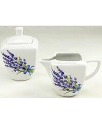 Milch/Zucker-Set Porzellan DAKAR CreaTable weiß