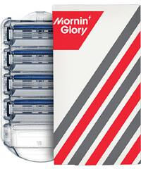 Mornin' Glory Freshman - 4 Klingen Rasierklingen 1 Stück