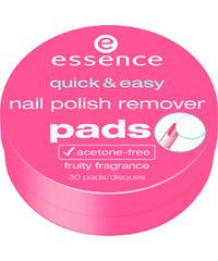 Essence Quick + Easy Remover Pads 30 Stück Nagellackentferner st