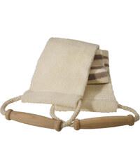 Croll & Denecke Baumwollgurt mit Leinenstreifen Massagegurt 1 Stück