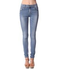 Dámské světlé džíny Q2 se zvýšeným sedem