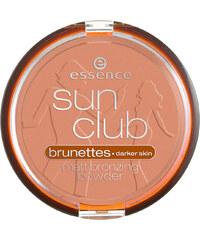 Essence Nr. 02 Suntanned Sun Club Matt Bronzing Powder Puder 1 Stück