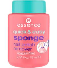 Essence Quick & Easy Sponge Nail Polish Remover Nagellackentferner 75 ml