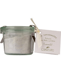 LaNature Badepuder Lavendel mit Lavendelblüten Badezusatz 70 g