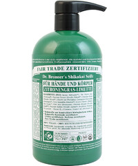 Dr. Bronner's Shikakai Soap Lemongrass-Lime Flüssigseife 709 ml
