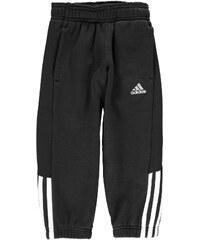 Tepláky adidas 3 Stripe dět. černá/bílá