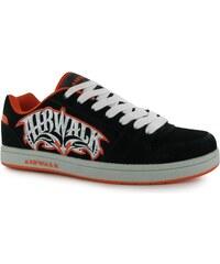 Skate boty Airwalk TripleX dět. černá/oranžová