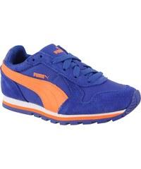 Puma Chlapecké běžecké tenisky ST Runner NL - oranžovo-modré
