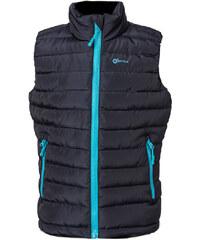 O'Style Chlapecká vesta s modrým zipem