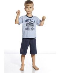 "Chlapecké pyžamo Cornette ""Engine"" YOUNG, KIDS, modrá"