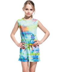 SUNDEK mini tracy dress with miami print