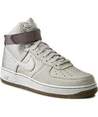 Schuhe NIKE - Air Force 1 Hi Prm 654440 004 Light Bone/Light Bone