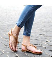 Lesara Zehensteg-Sandale mit Tassel - 35