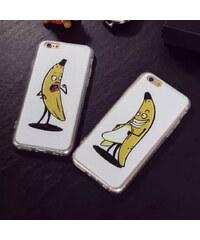 Lesara Pärchen-Hülle für Apple iPhone 5/6/6 Plus Banane - Für Damen - Iphone 5 / 5s