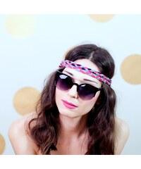 Lesara Sonnenbrille im Katzenaugen-Design - Schwarz