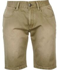 Firetrap Coloured Denim Shorts pánské Khaki