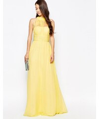 Ashley Roberts for Key Collections - Radiance - Maxi robe - Jaune