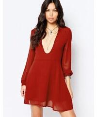 Glamorous - Robe manches longues - Rouge