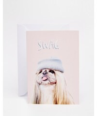 Jolly Awesome - Swag - Carte motif chien - Multi