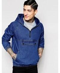 Kubban - Veste en jean style sweat - Bleu