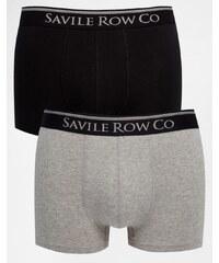 Saville Row Savile Row - Lot de 2 boxers - Noir