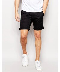 Selected Homme - Short chino - Noir