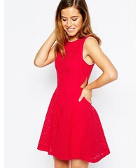 Sister Jane - Popsicle - Kleid mit Cut-Out - Rot