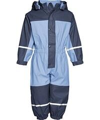 Playshoes Unisex Kinder wasserdichter Regen-Overall, Regenanzug mit Fleece-Futter