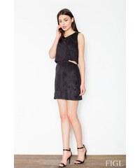 FIGL Dámské šaty M461 black