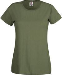 Dámské tričko Original Tee - Olivová XS