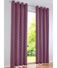 bpc living Panneau Wave (1 pce.), œillets violet maison - bonprix