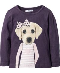 bpc bonprix collection T-shirt manches longues à imprimé, T. 80/86-128/134 violet enfant - bonprix