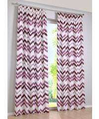 bpc living Panneau Zigzag (1 pce.), galon fronceur violet maison - bonprix