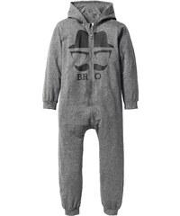 bpc bonprix collection Combinaison sweat à capuche, T. 128-182 gris enfant - bonprix