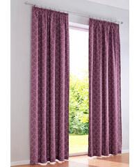 bpc living Panneau Wave (1 pce.), galon fronceur violet maison - bonprix