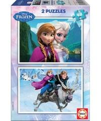 Borras Frozen - Lot de 2 puzzle 48 pièces - multicolore