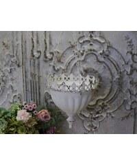 Chic Antique Závěsný květník Lace Antique white