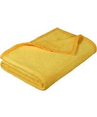 Deka micro jednobarevná 150x200cm žlutá
