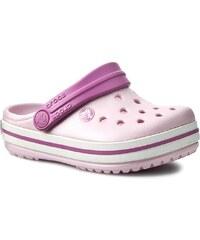 Nazouváky CROCS - Crocband Kids 10998 Ballerina Pink/Wild Orchid
