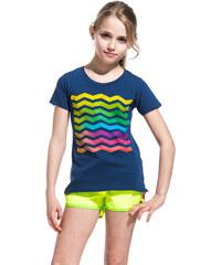 SUNDEK ines t-shirt with wave print