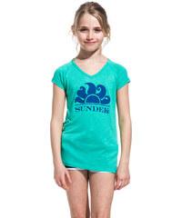 SUNDEK midori t-shirt with miami dream logo