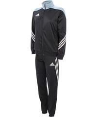 Adidas Trainingsanzug Sereno - Schwarz - S