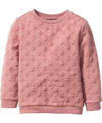 bpc bonprix collection Struktur Sweatshirt, Gr. 80/86-128/134 langarm in rosa für Mädchen von bonprix