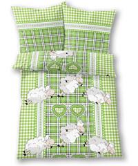 bpc living Bettwäsche Schaf, Jersey in grün von bonprix