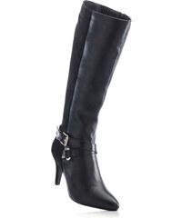 bpc selection Bottes noir avec 8 cm talon entonnoirchaussures & accessoires - bonprix