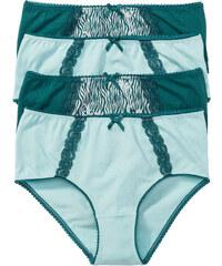 bpc selection Lot de 4 maxi slips gris lingerie - bonprix