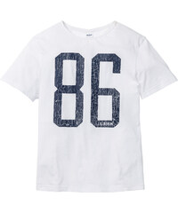 John Baner JEANSWEAR T-shirt Regular Fit blanc manches courtes homme - bonprix